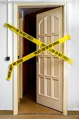 picture of crime scene  - Yellow Plastic Crime Scene Do Not Cross Tape - JPG
