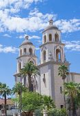 The Cathedral Of Saint Augustin In Tucson