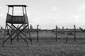 Sentry Box at Auschwitz Birkenau