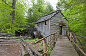 stock photo of cade  - Cable Mill Cades Cove Great Smoky Mountains National Park - JPG