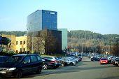 Vilnius City Danske Bank At Autumn Time On November 11, 2014