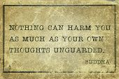 Own Thoughts Buddha