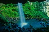Columbia Gorge Ponytail Falls