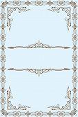 Ornate classical set