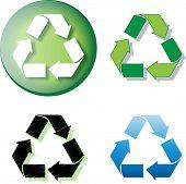 Recycle Logo Round