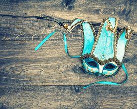 image of venice carnival  - Carnival mask harlequin - JPG
