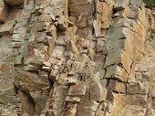 pic of bohemia  - view stone quarry South Bohemia Czech Republic - JPG