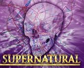 stock photo of occult  - Abstract background digital collage concept illustration supernatural occult - JPG