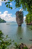 pic of james bond island  - James Bond Island in the Andaman sea - JPG