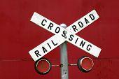 Antique Railroad Sign