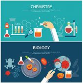 picture of chemistry  - chemistry and biology education concept for web and print - JPG