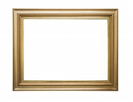 picture of classic art  - Gold frame - JPG