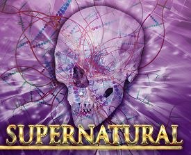 picture of occult  - Abstract background digital collage concept illustration supernatural occult - JPG