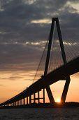 Cooper River Bridge in Charleston, South Carolina.