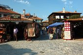 Market At Nesebar Island - Popular Touristic Place In Bulgaria