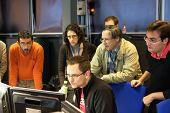 ATLAS experiment control room at CERN