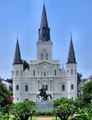Architecture New Orleans Cathedral