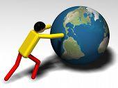 World Pushing