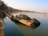 Old Sunken Vessel