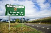 Scenic Captain Cook Highway 14 in Australia.