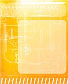 Techno background for digital design. EPS10
