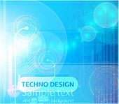 Digital background for techno design. EPS10