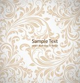 Seamless wallpaper pattern, white