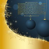 Merry Christmas and Happy New Year vector for xmas design