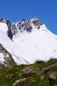 Gipfel Alpenblick