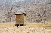 Horizintal Image Of A Dogon Granary In Mali