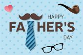 Happy Father S Day Greeting Card. Happy Father S Day Poster. Vector Illustration. poster