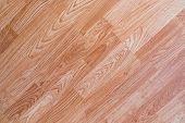 Wood floor made of oak material. poster