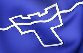stock photo of tyne  - Tyne and Wear flag - JPG