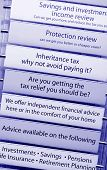 Tax financial advice