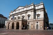 The Teatro alla Scala in Milan, Italy