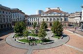 The Teatro alla Scala in Milan, Italy