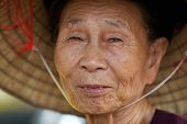 Vietnamesisch alte Frau