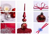 Christmas Decorations Mix Of