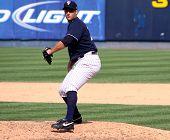 Scranton Wilkes-Barre Yankees Krug George Kontos feuert einen pitch