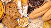 selection of gluten free food poster