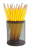 Pencils In Pencil Holders