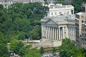 Washington DC, Aerial view of Treasury Department Building