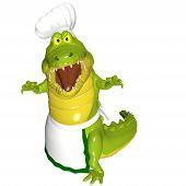 Alligator Chef - Attack