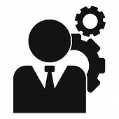 Administrator System Icon. Simple Illustration Of Administrator System Vector Icon For Web Design Is poster