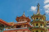 George Town Malaysia. March 8 2019. Kek Lok Si Temple In George Town Malaysia poster