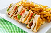 Club Sandwich Meal