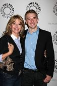 LOS ANGELES - MAY 9:  Deidre Hall, Chandler Massey arrives at the