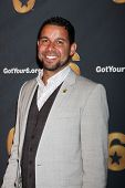 LOS ANGELES - MAY 10:  Jon Huertas arrives at the Launch of Got Your 6  at SAG / AFTRA Headquarter