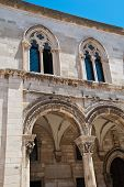 Outer Facade Of The Rectors Palace In Dubrovnik Croatia poster