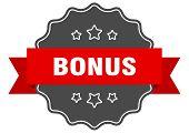 Bonus Red Label. Bonus Isolated Seal. Bonus poster